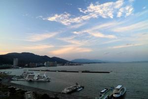 大津からの琵琶湖