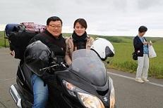台湾からのカップル