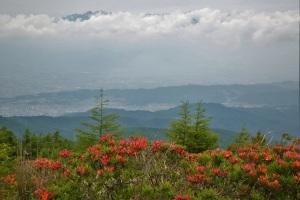 美ヶ原高原から南アルプス方面