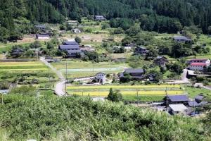 馬瀬の山村風景