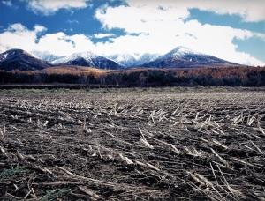 諏訪郡原村からの八ヶ岳連峰